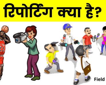 रिपोर्टिंग क्या है? (What is Reporting in Hindi)