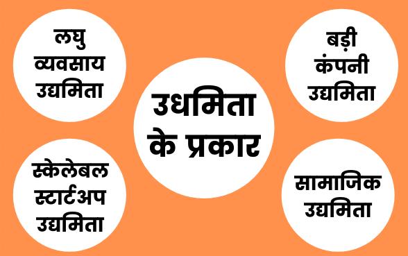 उधमिता के प्रकार (Types of Entrepreneurship in Hindi)